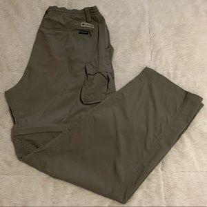 Columbia convertible nylon pants